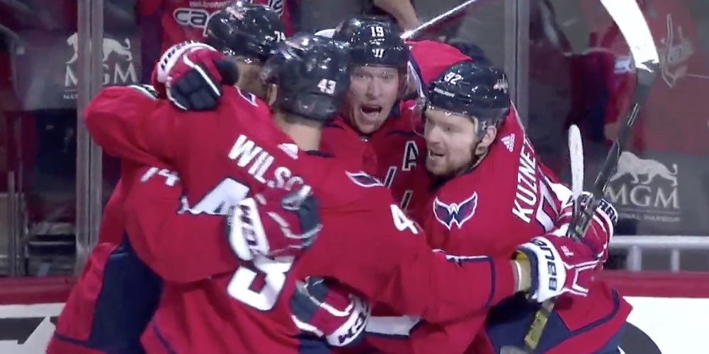 With dominant win, Capitals rediscover swagger as they look to eliminate Hurricanes