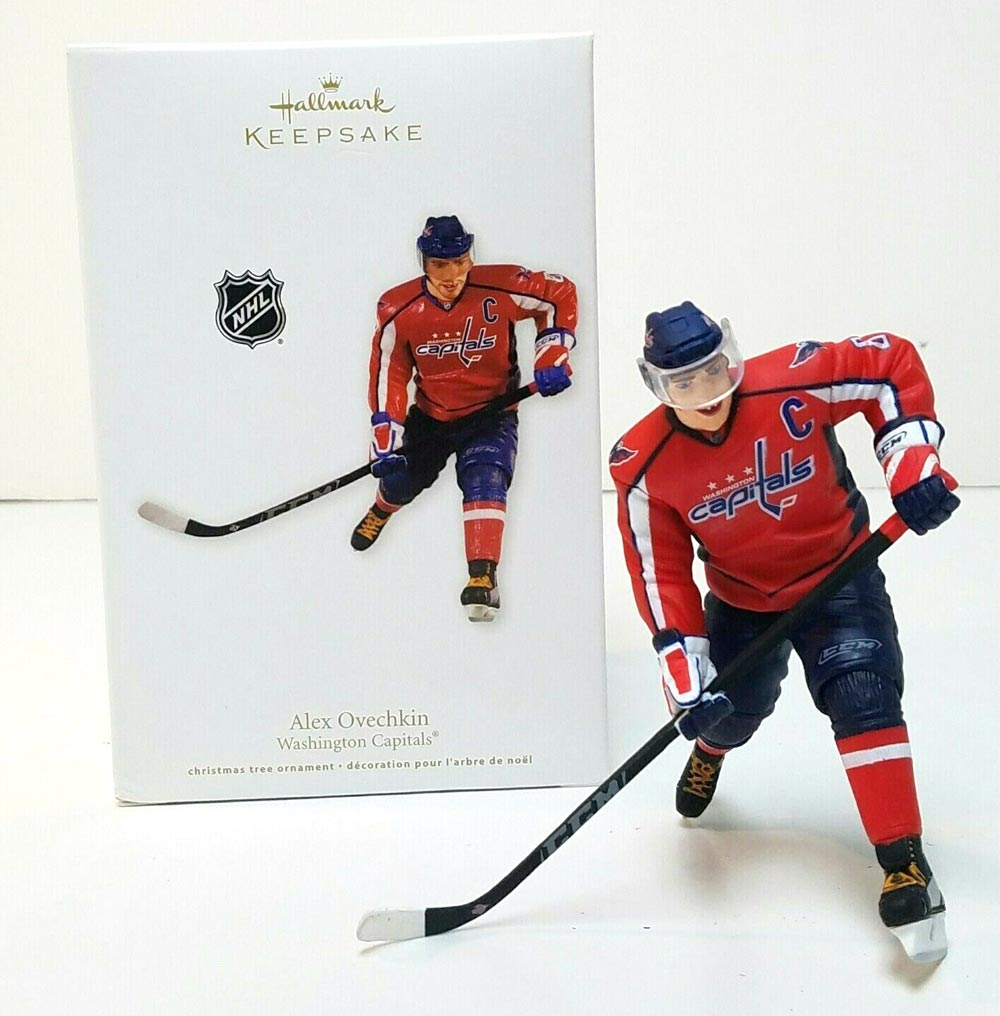 quality design 10483 391ea Hallmark is releasing an Alex Ovechkin Stanley Cup champion ...