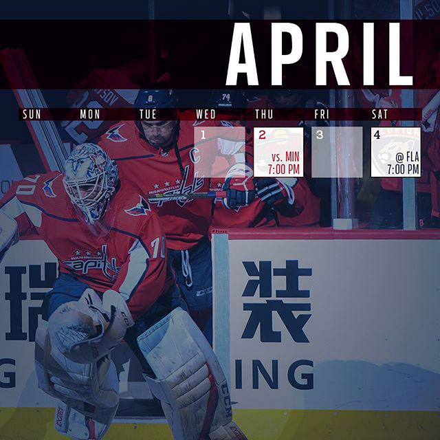 graphic relating to Washington Capitals Schedule Printable known as Heres the Washington Capitals 2019-20 month to month year routine