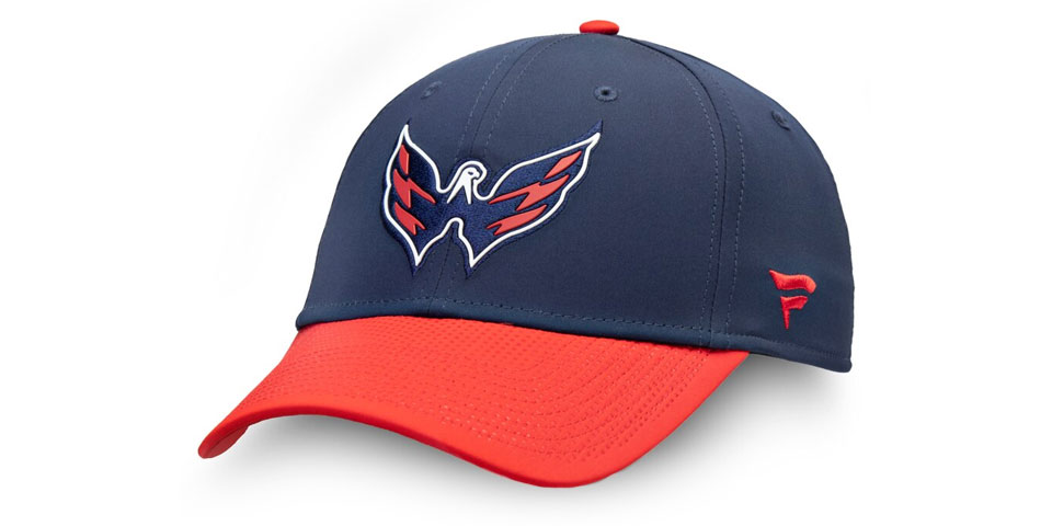 221cd3dd9b8 The Capitals 2019 NHL Draft hat has an awesome hidden design under the bill