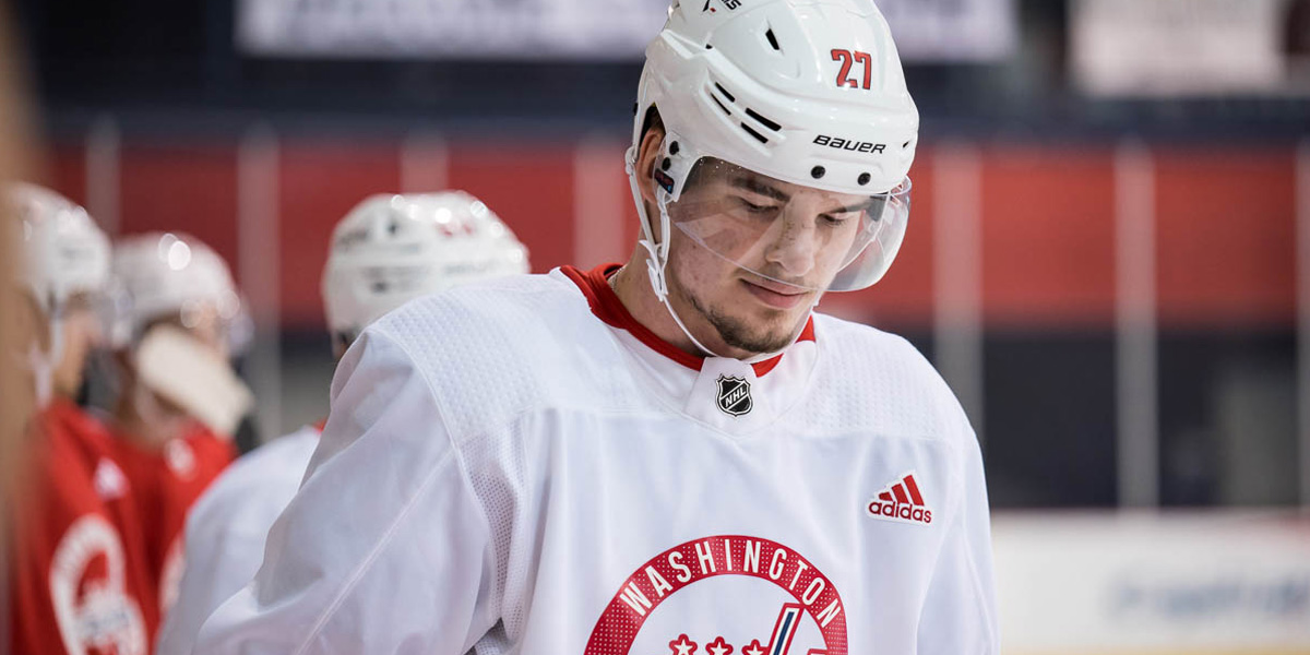 Alex Alexeyev returns to Hershey Bears lineup after KHL stint, grabs excellent primary assist