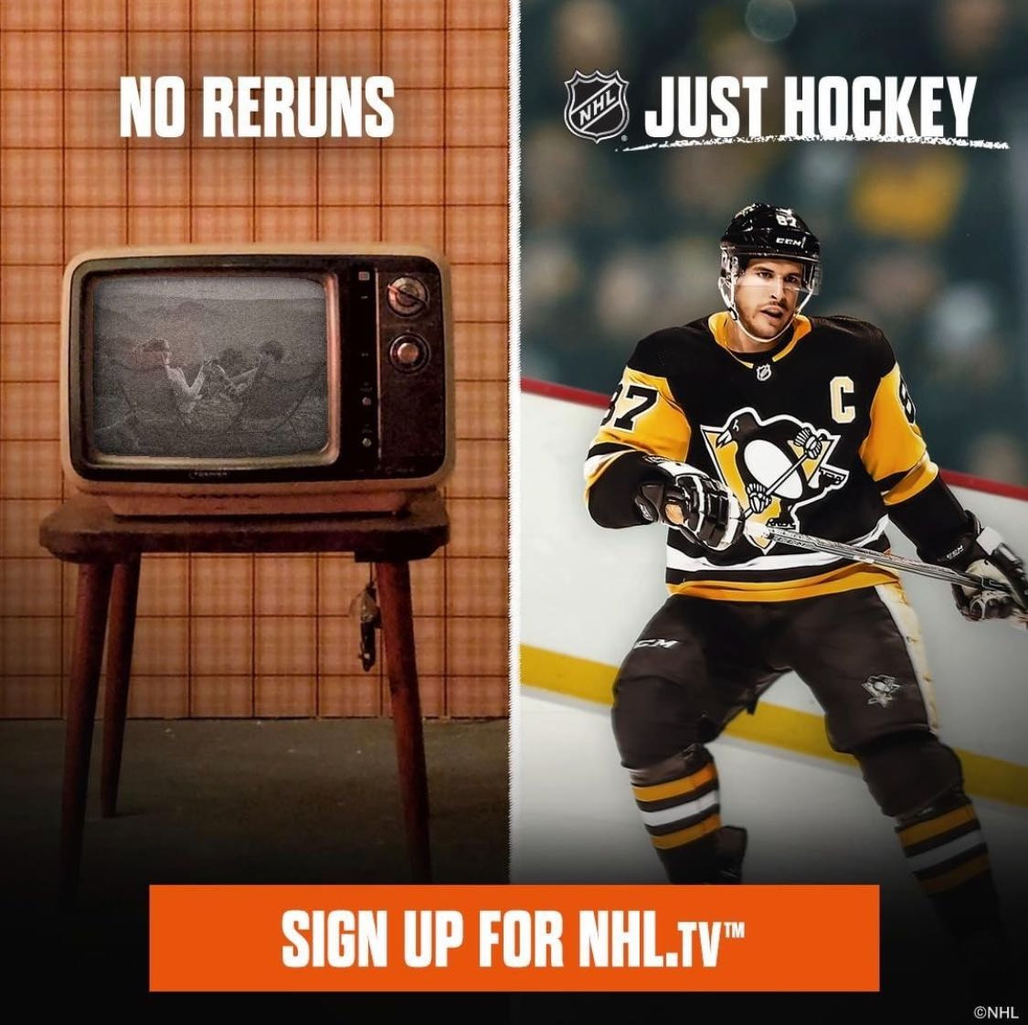 Tone-deaf NHL ad promises 'no soap operas, just hockey'