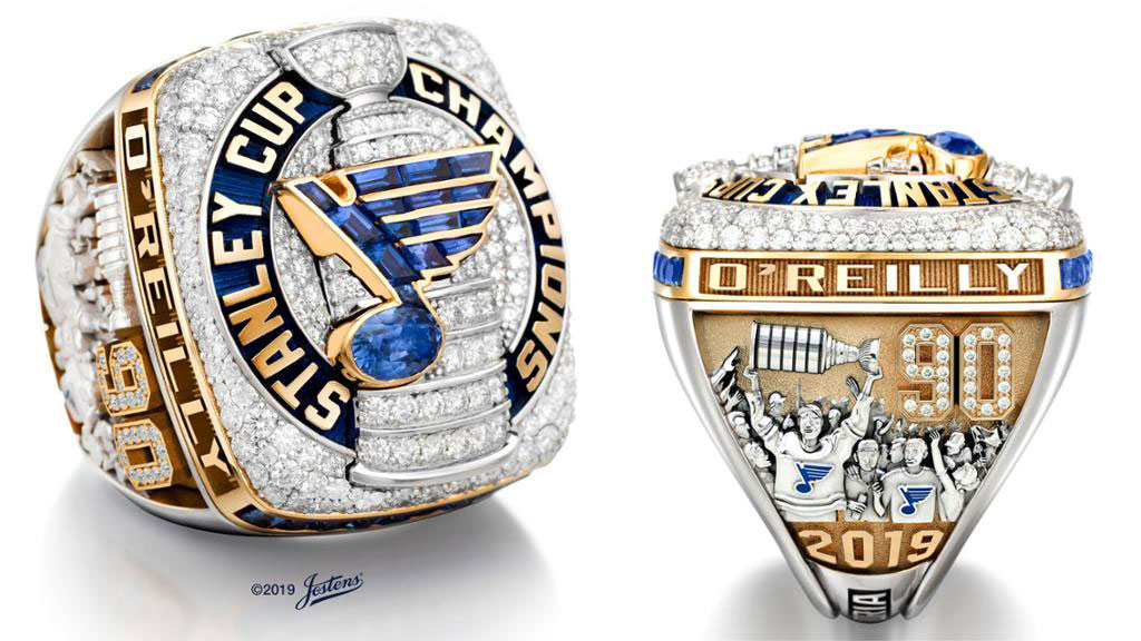 Steen, Parayko surprise Blues superfan Anderson with Stanley Cup ring