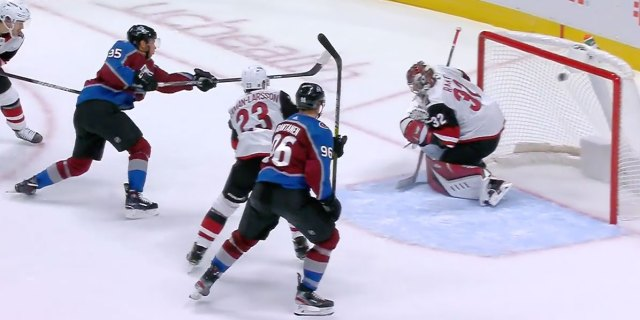 Andre Burakovsky scores game-winning goal for Avalanche in second consecutive game