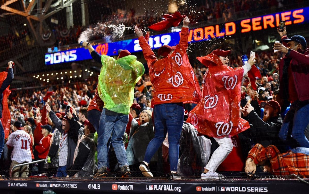 One year ago today, the Washington Nationals became World Series champions