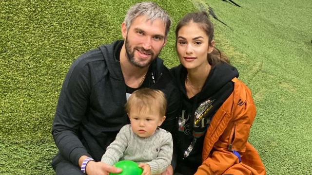 Alex Ovechkin takes son Sergei to indoor playground, massive amounts of cuteness ensues