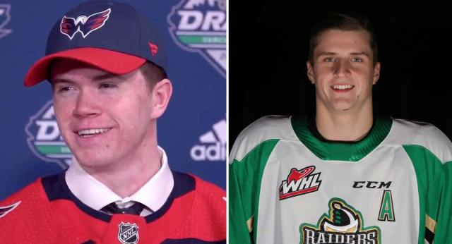 Caps draft picks Connor McMichael and Aliaksei Protas lead the OHL and WHL in scoring