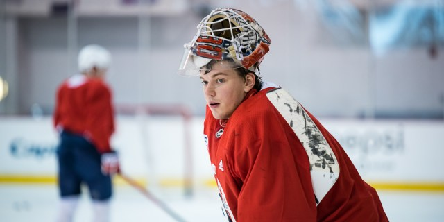 Salary cap woes force Capitals to send down Ilya Samsonov to recall a healthy forward