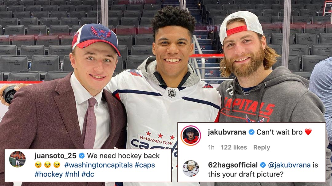Jakub Vrana Gets Roasted By Carl Hagelin In The Comments Of Juan