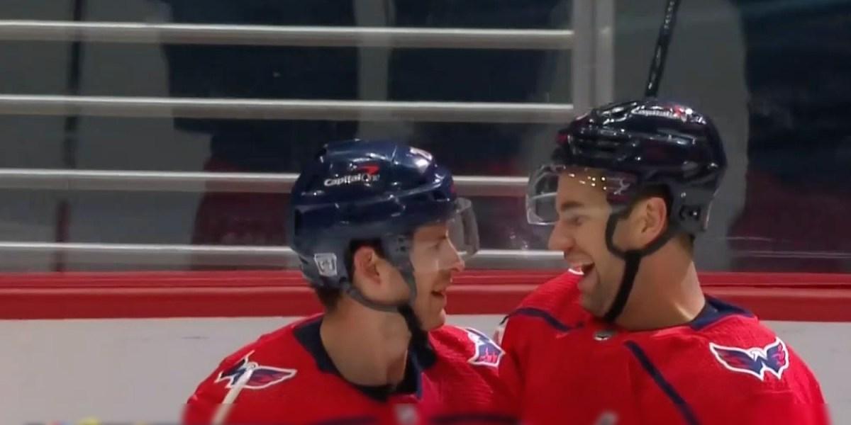 Caps beat Sabres 3-1… but still no shutout for Vanecek - Russian Machine Never Breaks