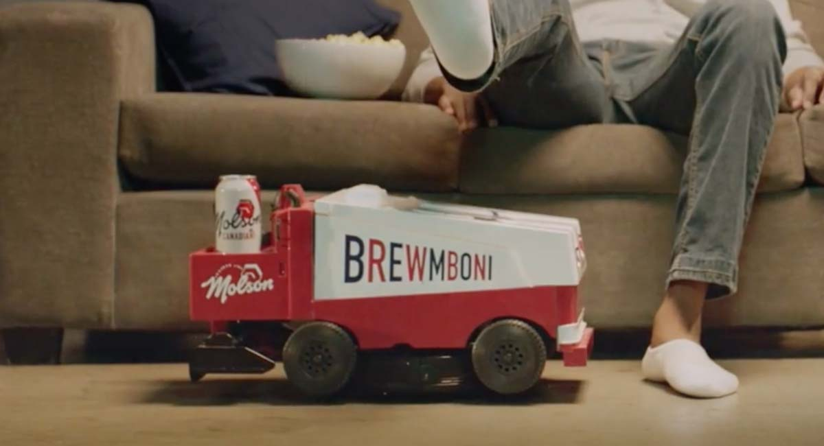 Molson Canadian invents the Brewmboni: 'It's part vacuum. Part cooler. All hockey.'