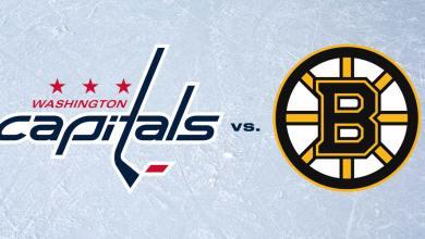 Caps vs Bruins, Game One: Open thread