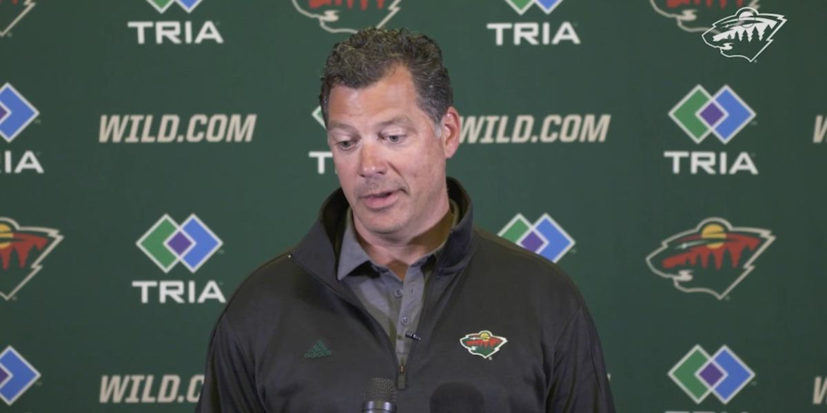Ryan Suter hung up on Bill Guerin during his buyout call