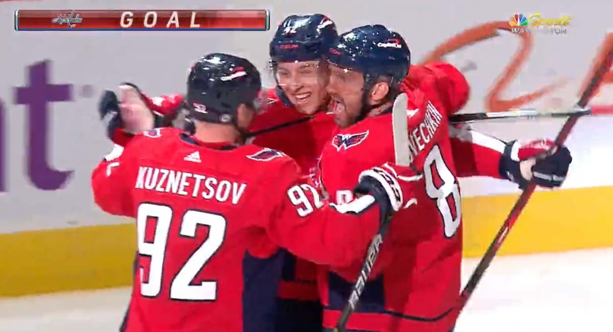 Martin Fehervary scores first NHL goal against Flames