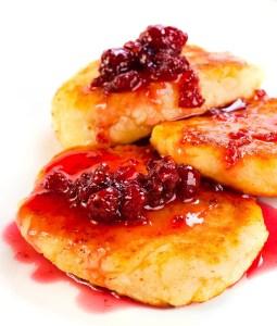Cheese Pancakes Syrniki (Сырники)