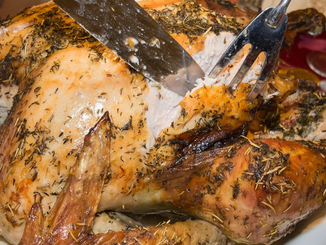 Roast Turkey – Жареная индейка