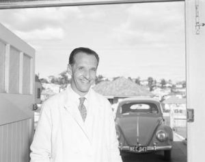 George Virine -Photo from National archives of Australia Image No A12111, 1/1959/6/38