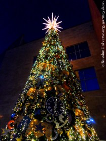 Christmas tree in Russia 2