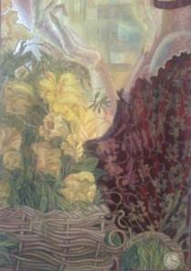 A flower-woman