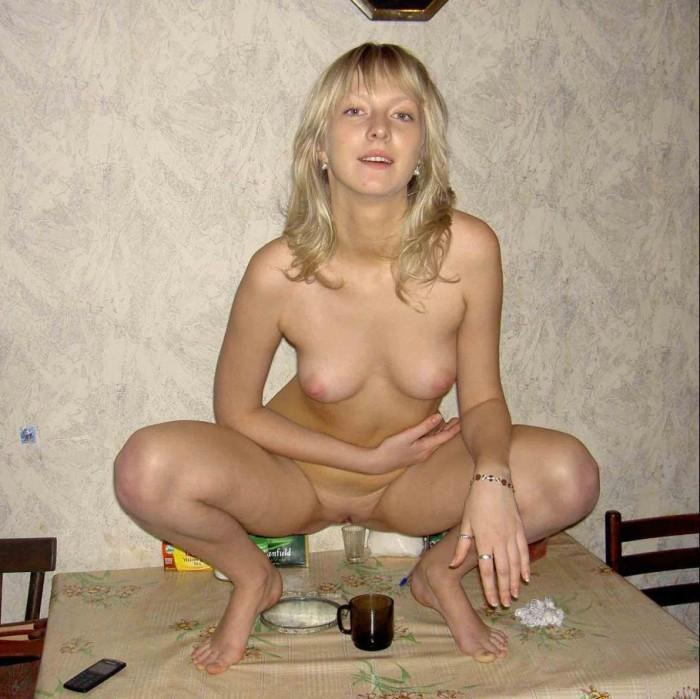 Hot girls sitting on dildo