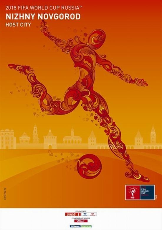 FIFA World Cup 2018 Russia - Nizhny Novgorod poster