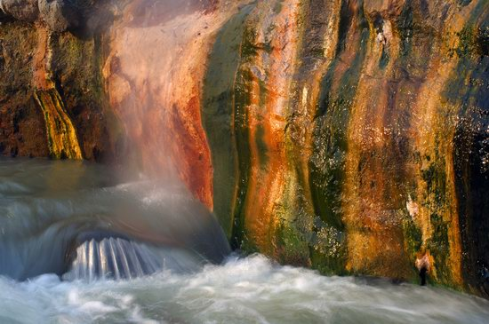 The Valley of Geysers colors, Kamchatka, Russia photo 1
