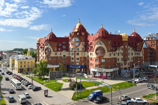 Architecture of Barnaul city · Russia Travel Blog