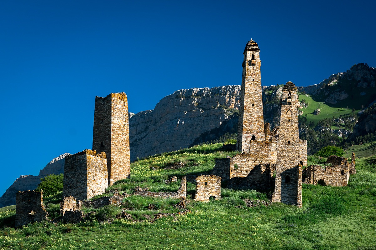 Majestic Landscapes Of The Mountain Ingushetia 183 Russia