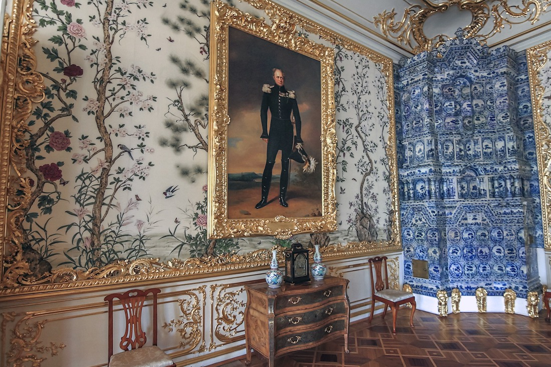 The Catherine Palace  a masterpiece of Baroque  Russia
