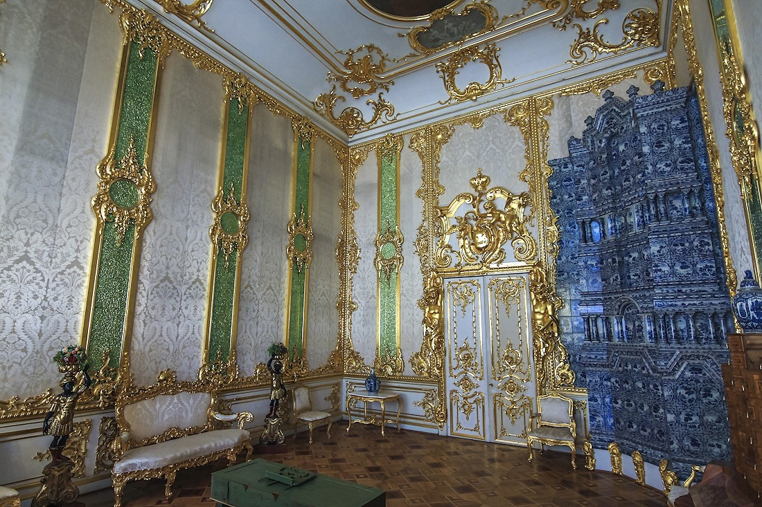 The Catherine Palace  a masterpiece of Baroque  Russia travel blog