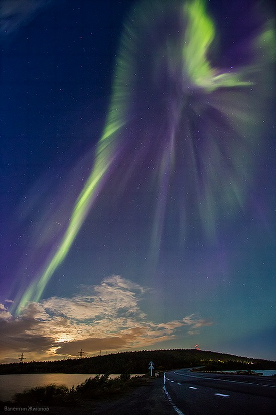 Murmansk Russia Northern Lights