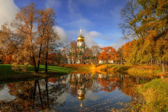 Numa Falls Wallpaper Golden Autumn In Tsarskoye Selo 183 Russia Travel Blog