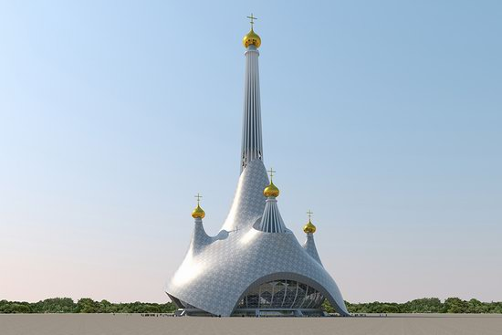 The draft concept of St. Catherine Cathedral, Ekaterinburg, Russia, photo 14