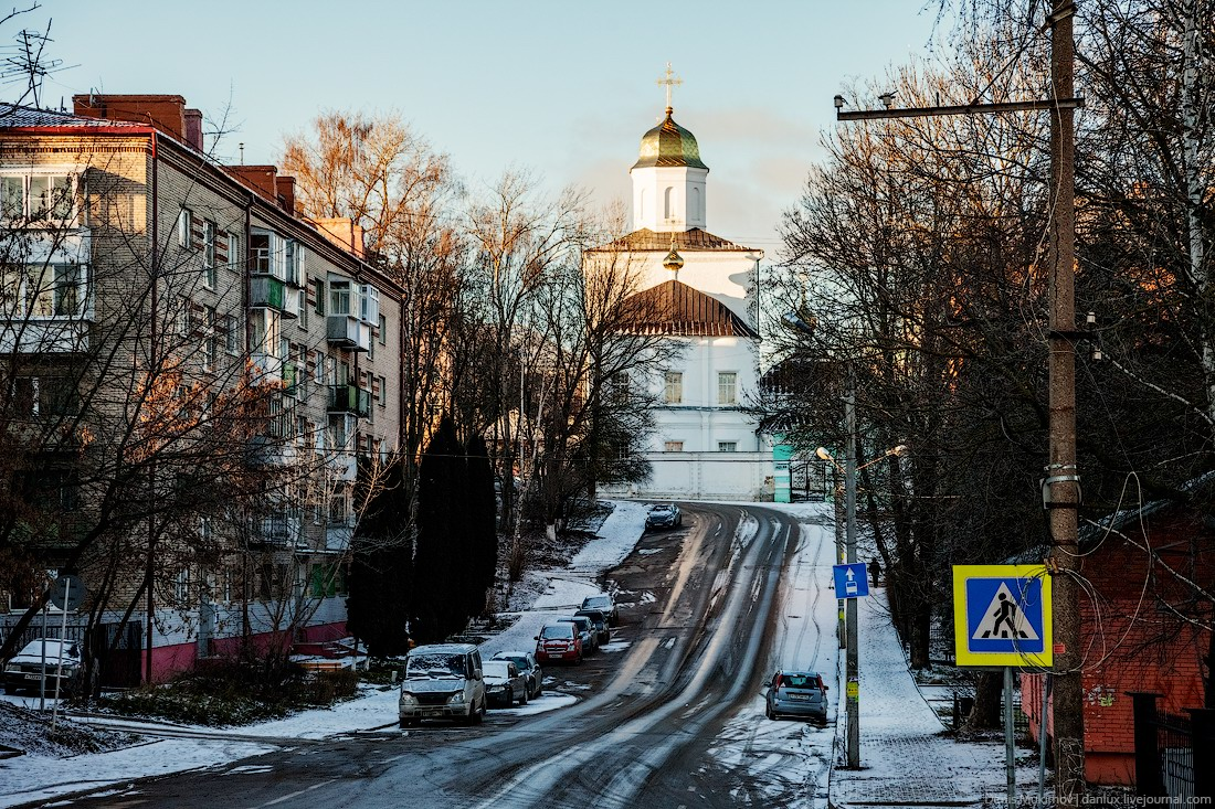 Walk Through The Streets Of Smolensk In Winter Russia