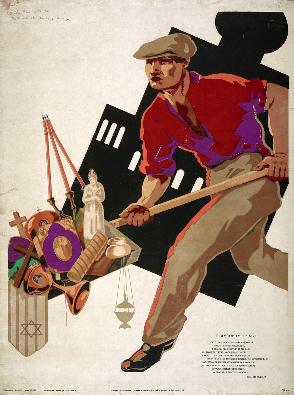 Image result for Anti Religion 1920 russia