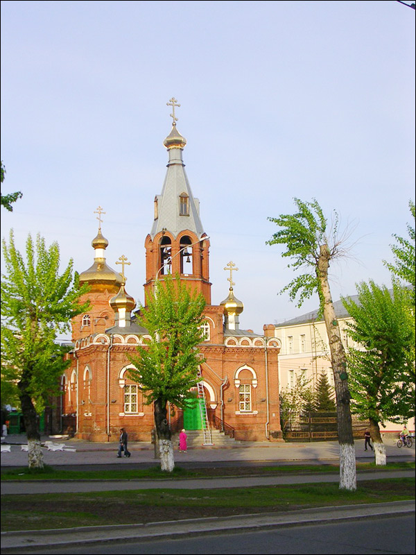 Barnaul city, Russia travel guide