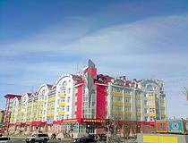 Salekhard city view