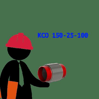 КСО 150-25-100