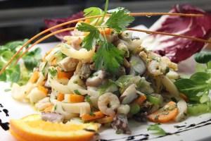 правильное питание и морепродукты