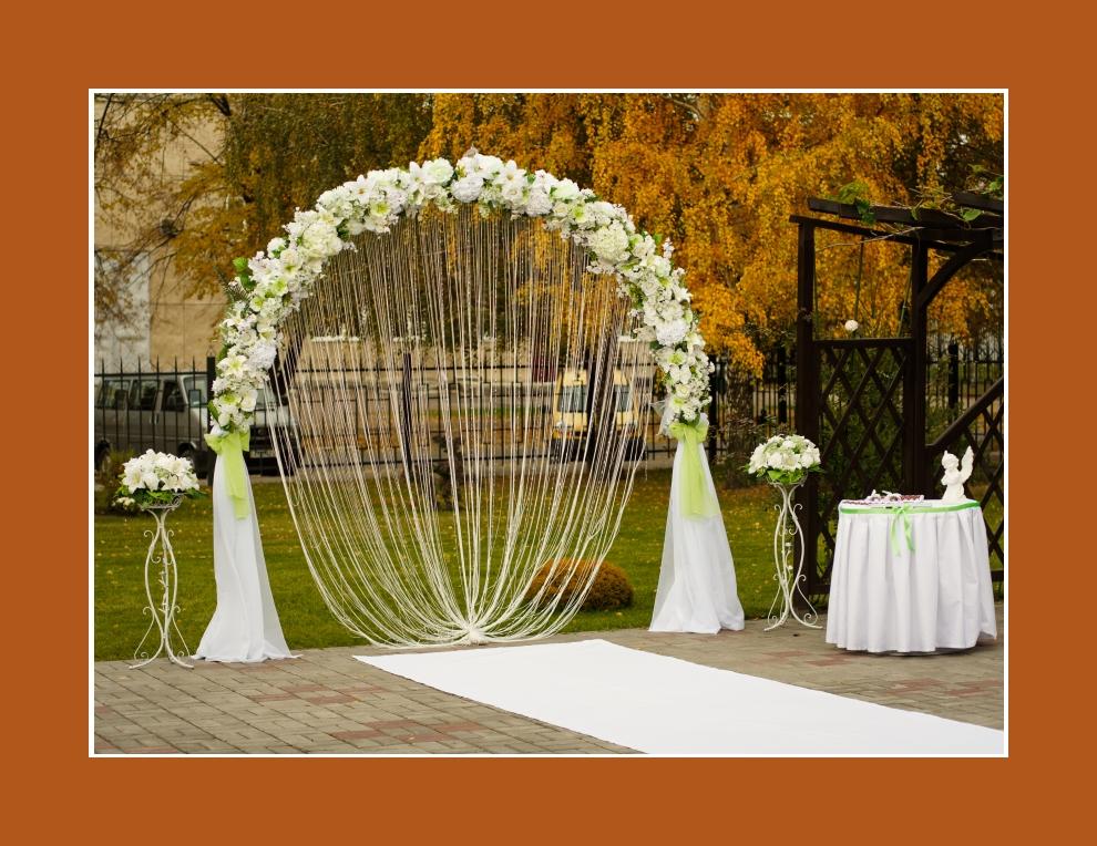 Freie Hochzeit  Trauung im Garten oder im Freien