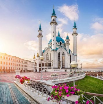 Städtereise Kasan: Kul Sharif Moschee Kasan