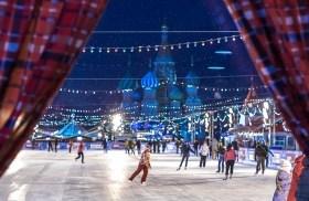Eislaufbahnen in Moskau