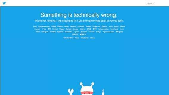 RuNet-Nutzer beschwerten sich über Twitterabstürze