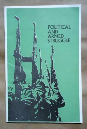 'Political And Armed Struggle', Palestine National Liberation Movement Fateh, Beirut, Lebanon, early 1970's.
