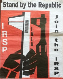 Irish Republican Socialist Party, Ireland, [mid 1980's].