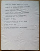 List of chants for a demonstration against the Shah of Iran, United States, [late 1970's].