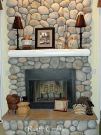 Decorating A Fireplace Mantel: Fall Decor Ideas - Rustic ...