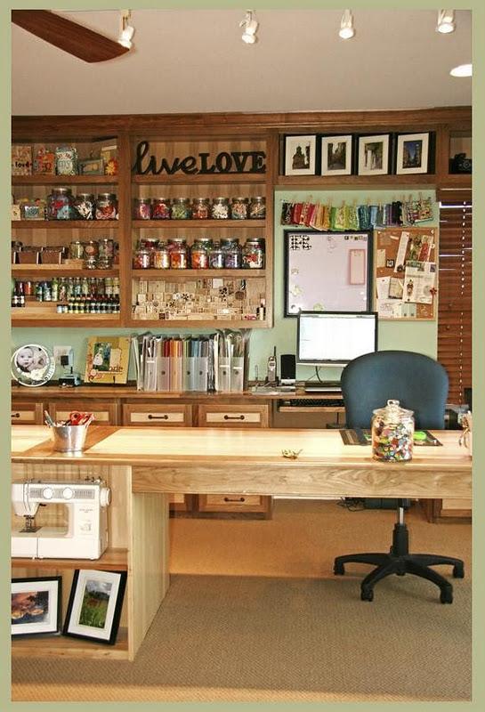 Craft Room Designs  Rustic Crafts & Chic Decor