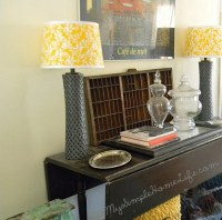 Small Space Decorating In A Shabby Chic Style