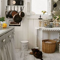 Small Space Decorating In A Shabby Chic Style - Rustic ...
